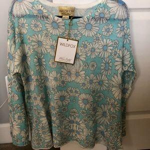 Wildfox White Label Daisy Sweater HTF